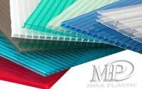 الواح بولى كربونيت شركة مينا بلاستيك  mina plastic polycarbonate sheet