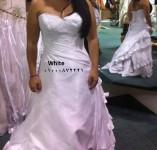 فساتين زفاف وسواريه باقمشة واكسسوارات مستوردة