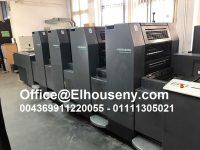 ماكينة طباعة هايدلبرج سبيد ماستر سنة الإنتاج: 1999